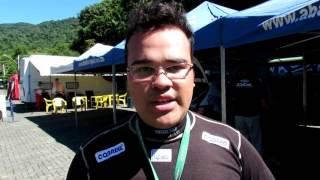 Felipe Costa   Após SS1   Rally de Pomerode 2016