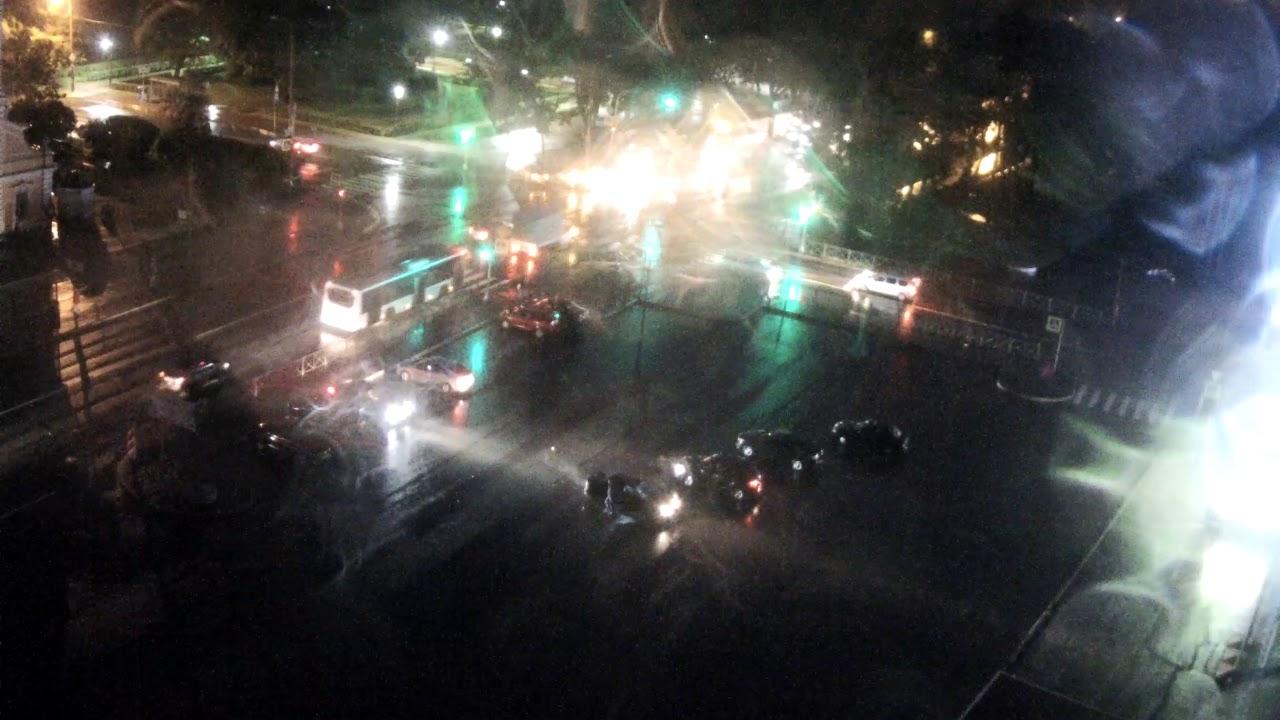 Авария в Красном Селе 24.08.17