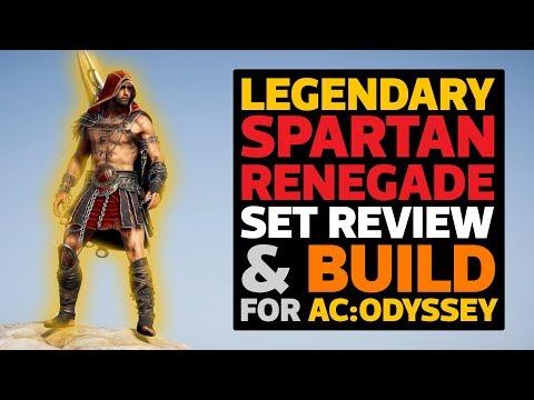 assassins creed odyssey spartan renegade armor kassandra