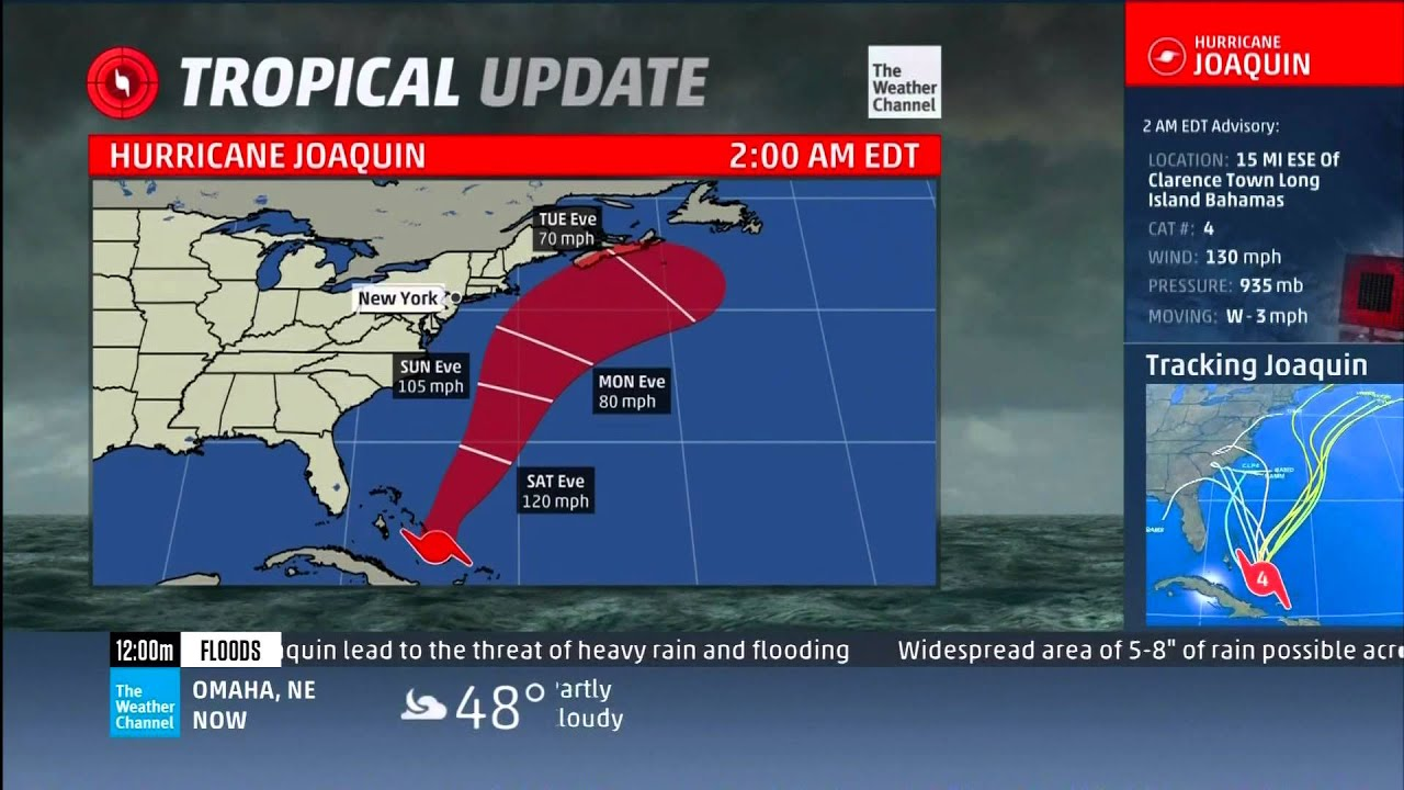 twc the weather channel tropical update hurricane