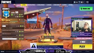LIVE| Galaxy Skin! 1440x1080 Fortnite