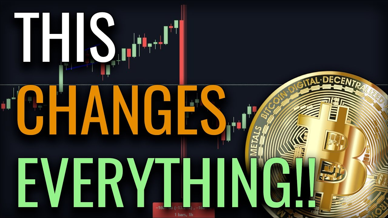 AMAZING NEWS FOR BITCOIN!! ARE WE OFF TO THE RACES AGAIN???
