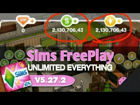 [NO ROOT] The Updated Sims Freeplay Hack/Mod Apk V5.27.2 [Unlimited LP SP And Money]  #Smartphone #Android