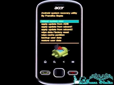 Tutorial Hard Reset Acer E140 BeTouch