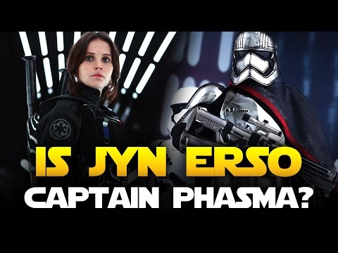 ROGUE ONE: Does Jyn Erso Become Captain Phasma And Is She Rey's Mother? | Star Wars HQ