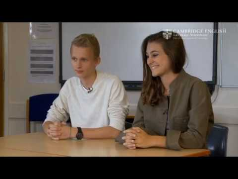 Cambridge English: Preliminary for Schools, Arthur and Elena (Italia)
