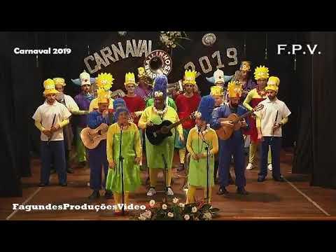 Bailinho dos Rapazes das Doze Ribeiras - Os Simpsons - Carnaval 2019
