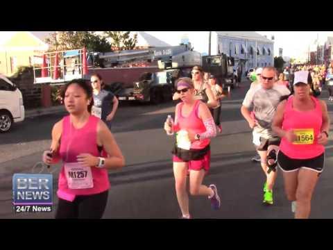 Bermuda Marathon Start, January 17 2016