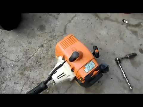 Stihl FS250 Trimmer 005 - YouTube