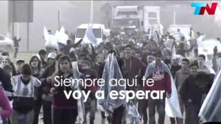 Homenaje a La Seleccion Argentina de futbol, Aqui Te Espero .Abel Pintos.