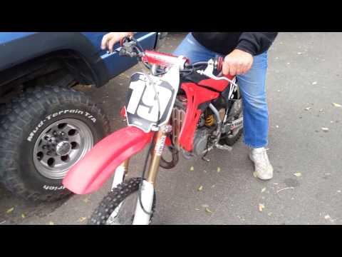 Honda CR85. First Ride