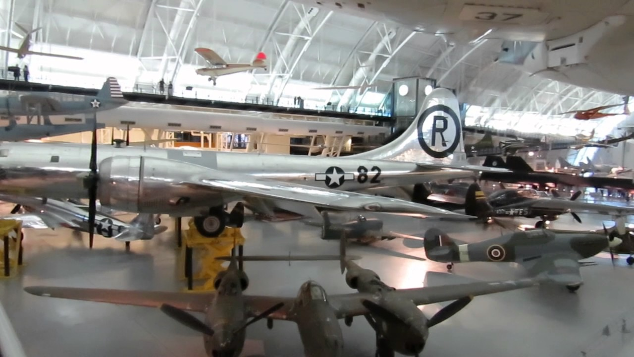 A Walk Through The Smithsonian National Air Space Museums Youtube