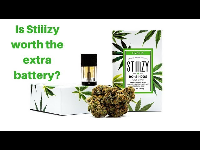 Stiiizy Do Si Dos vape cartridge review. Is it worth buying another vape?