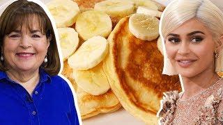 Kylie Jenner Vs. Ina Garten: Whose Pancakes Are Better?   Celebrity Snackdown   Delish