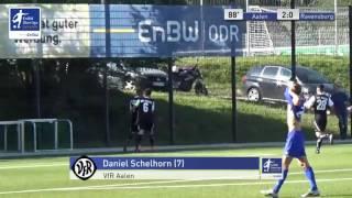 A-Junioren - VfR Aalen vs. FV Ravensburg 2:0 - Daniel Schelhorn