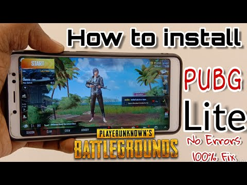how to install pubg Lite Any Android mobile 100% Working| Pubg lite Server Error problem fix Tamil