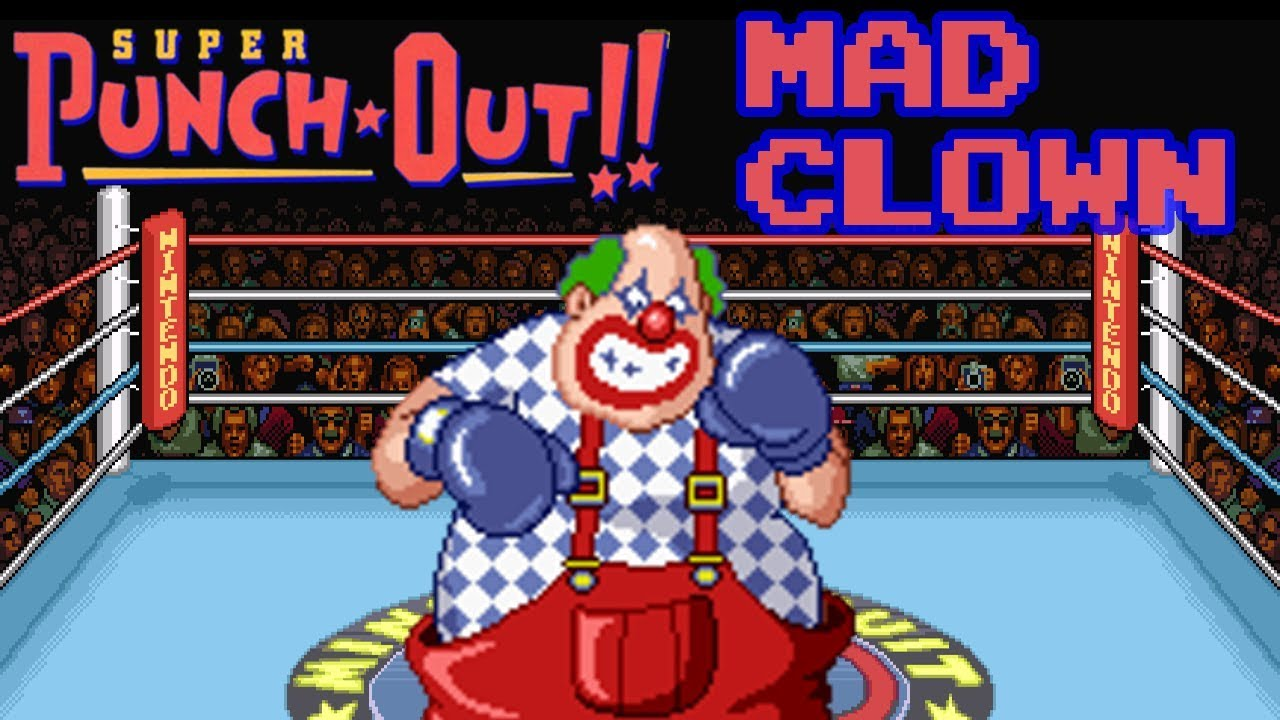 ee850a1f22d Super punch out mad clown fight youtube jpg 1280x720 Super punch out mad  clown