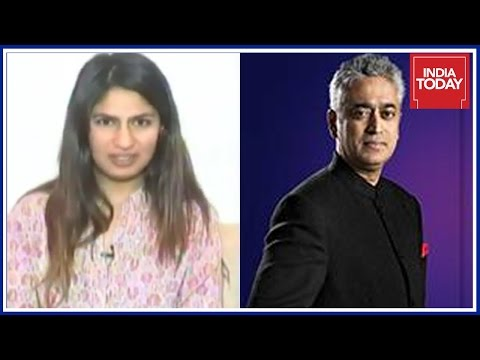 #PatriotWars : Gurmehar Kaur Exclusive Interview By Rajdeep Sardesai