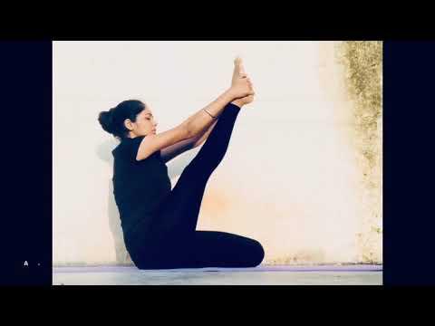 How to do Krounchasana (Heron Pose) for beginners