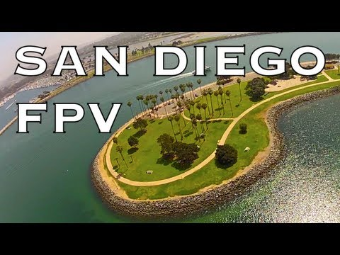 FPV: SAN DIEGO - Mission Beach/Bay
