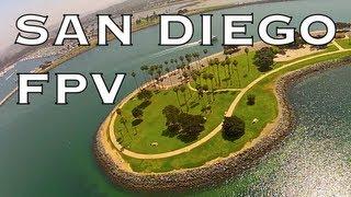 FPV: SAN DIEGO - Mission Beach/Bay