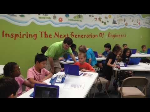 Engineering For Kids Summer Camp: Traveling to the Future