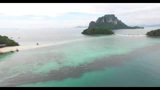 Krabi 4 Island Tour filmed whit a drone