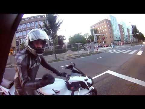 Group ride to Scheveningen (Back to Rotterdam) - Harley Davidson Sportster Iron 883