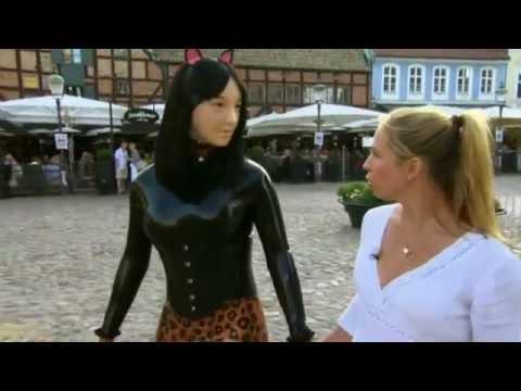 Rubberdoll rubberpupett on Sweden TV