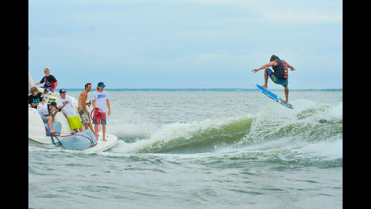 Yacht Surfing - 2016 Boarders Big Boat Wakesurfing