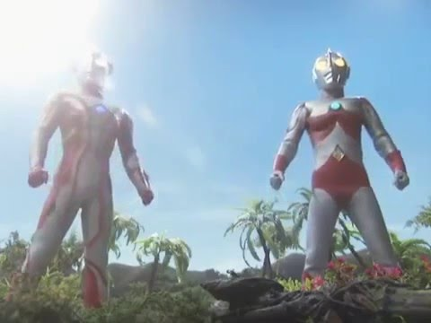 Ultraman Mebius And Ultraman 80 Vs Robegar