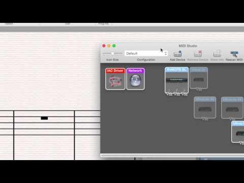 Sibelius MIDI Troubleshooting on Mac