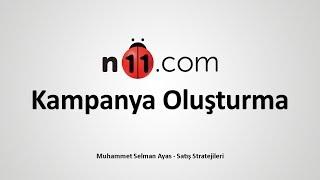 N11 Kampanya Oluşturma | N11 Satış Stratejileri 4