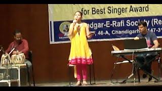 Surbhi Singing Lataji