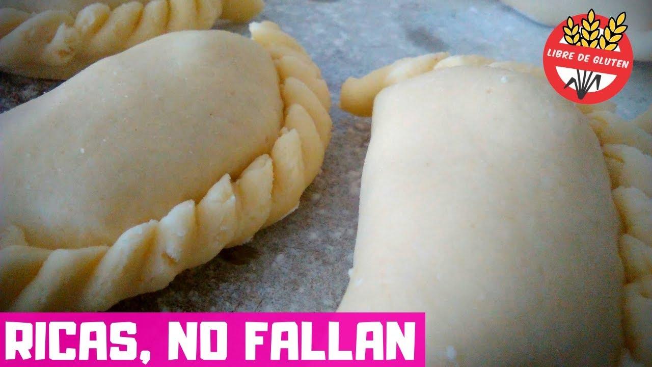 C mo hacer empanadas para cel acos receta de masa para tapas libres de gluten sin tacc youtube - Alimentos sin gluten para celiacos ...
