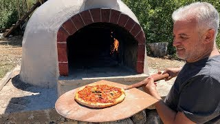 TAŞ FIRIN - KÖY FIRINI - PİZZA FIRINI NASIL YAPILIR | How to Build Outdoor Pizza Oven
