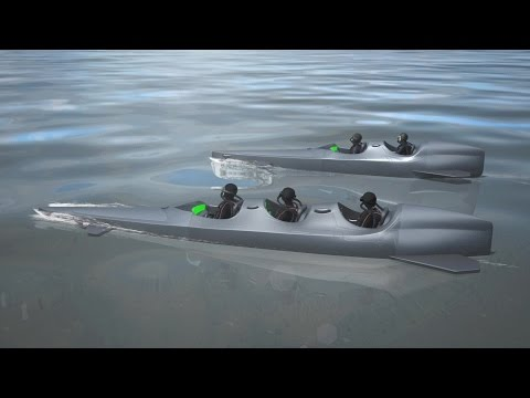 Personal submersible can transport divers 95 meters deep