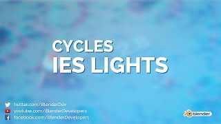 IES Support In Cycles Blender 2 8