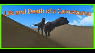 Roblox|Era of Terror| Life and Death of a Carnotaurus