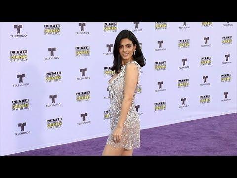 Emeraude Toubia 2017 Latin American Music Awards Purple Carpet
