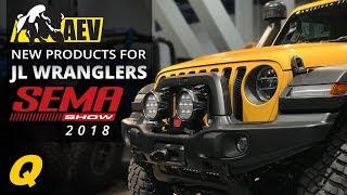 AEV JL Wrangler Products at the 2018 SEMA Show