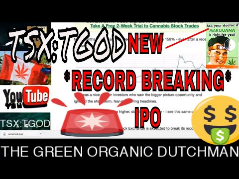 *BREAKING NEWS* Record Cannabis IPO - Marijuana Stocks 2018 - RICH TV LIVE