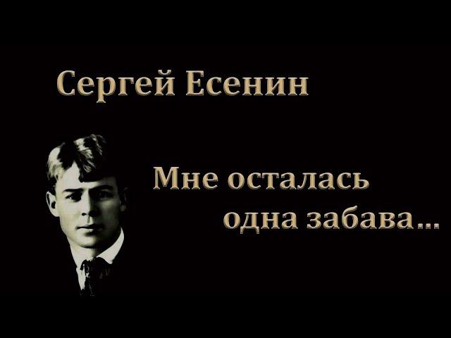 Изображение предпросмотра прочтения – СнежанаЗайнулина читает произведение «Мне осталась одна забава…» С.А.Есенина
