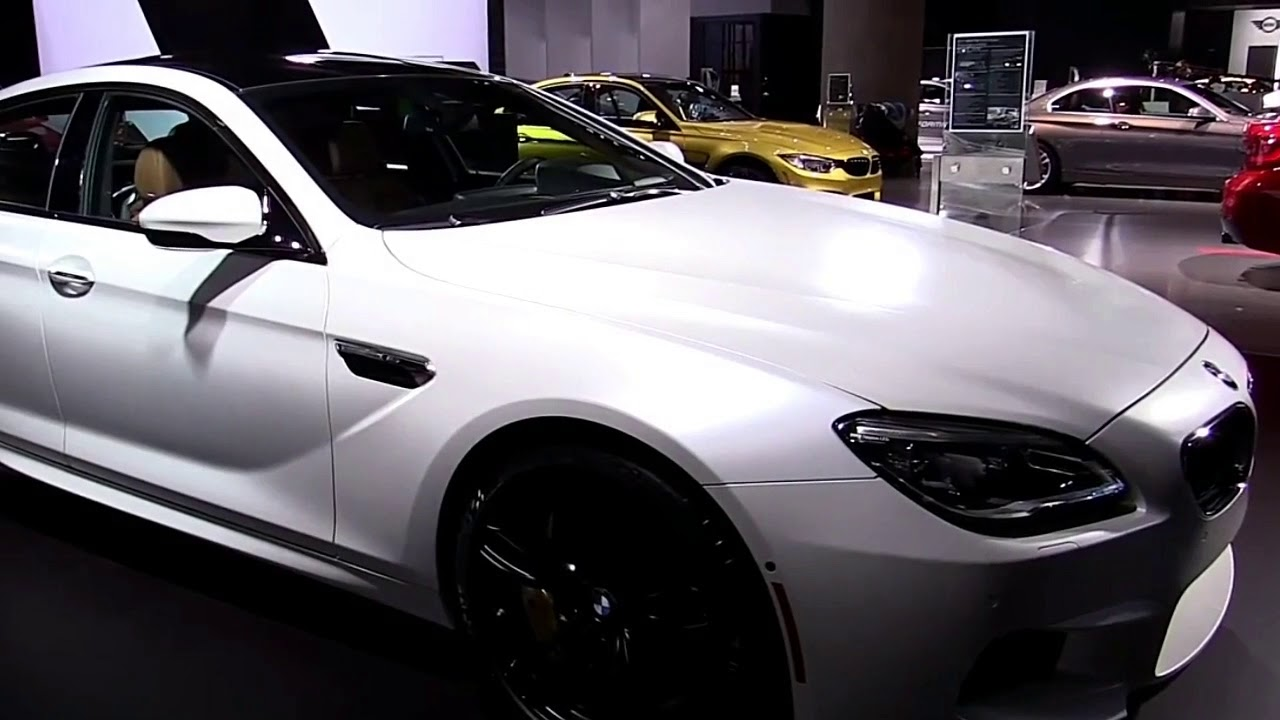 2019 BMW M6 Gran Coupe Edition Design Special Limited