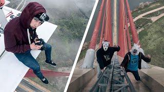 Climbing the highest bridge of Spain 192m
