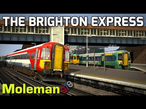 The Brighton Express! | TS2016 | Class 442 5WES | London to Brighton