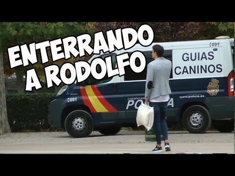 CÁMARA OCULTA | ENTERRANDO A RODOLFO 🐶