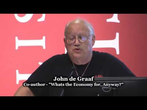 John de Graaf - Take Back Your Time
