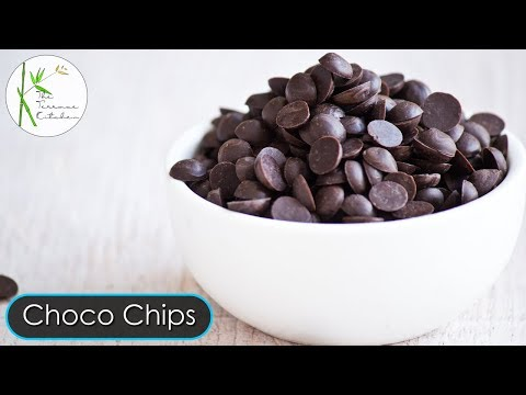 How to Make Choco Chips | Homemade Chocolate Chips | Choco Chips Recipe ~ The Terrace Kitchen