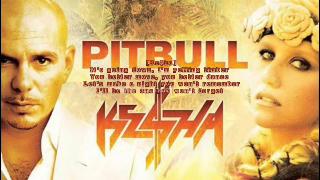 Kesha ft. Pitbull timber sheet music for piano download free in.